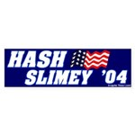 Mock It Hash Slimey 2004 Bumpersticker