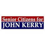 Senior Citizens for John Kerry (sticker)