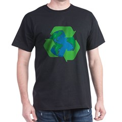 Recycle Earth Dark T-Shirt