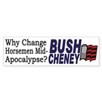 Why Change Horsemen? (sticker)