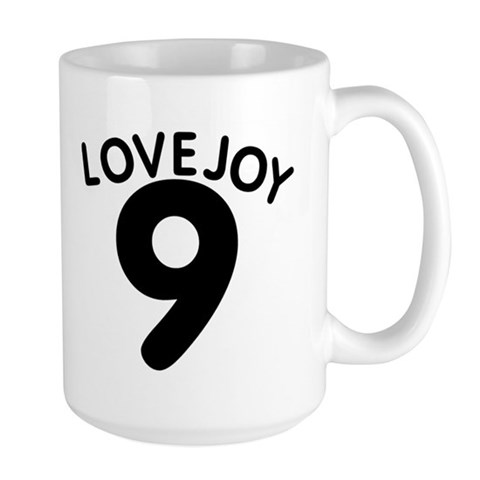 - Approx 9.45 Baseball Large Mug by CafePress