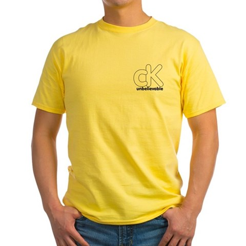 - Approx 11.97 White Yellow T-Shirt by CafePress