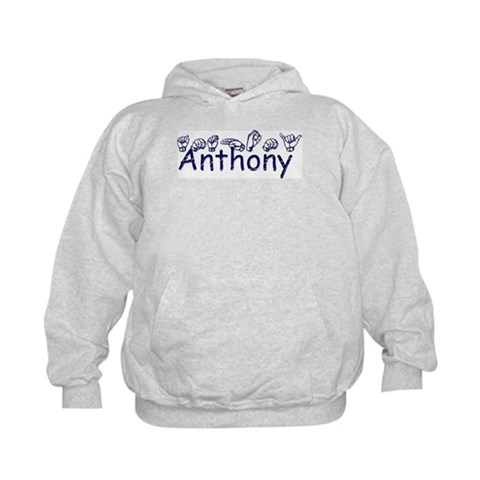 Anthony  Autism Kids Hoodie by CafePress