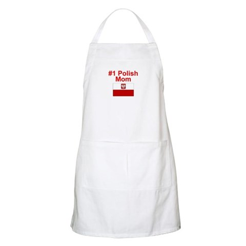 1 Polish Mom BBQ  Mother's day Apron by CafePress