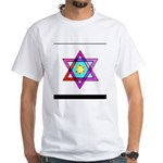 Jewish Star Of David White T-Shirt