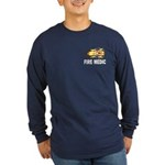 Fire Medic Long Sleeve Dark T-Shirt