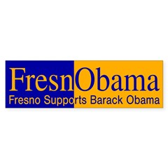 FresnObama (pro-Obama bumper sticker)