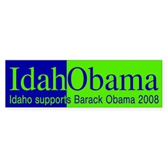 IdahObama (pro-Obama bumper sticker)