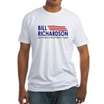 Richardson: Let America... Fitted T-Shirt