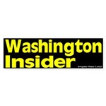 Washington Insider Bumper Sticker