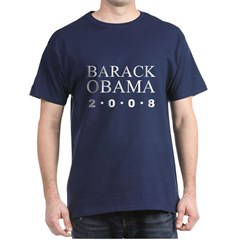Barack Obama for President 2008 Dark T-Shirt