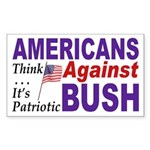 Americans Against Bush (bumper sticker)