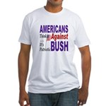 Americans Against Bush Fitted T-Shirt
