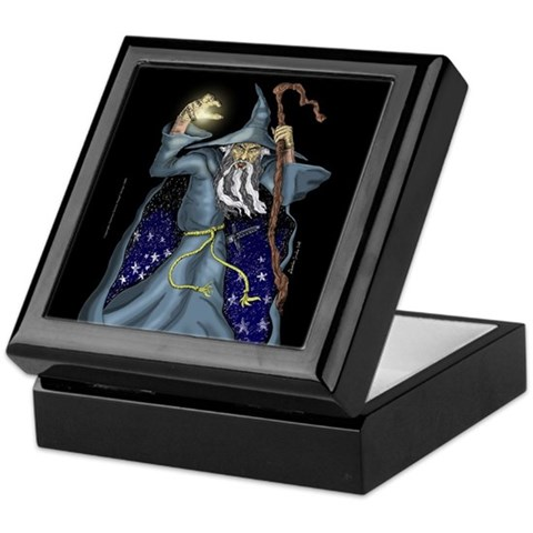 Wizard Keepsake Box