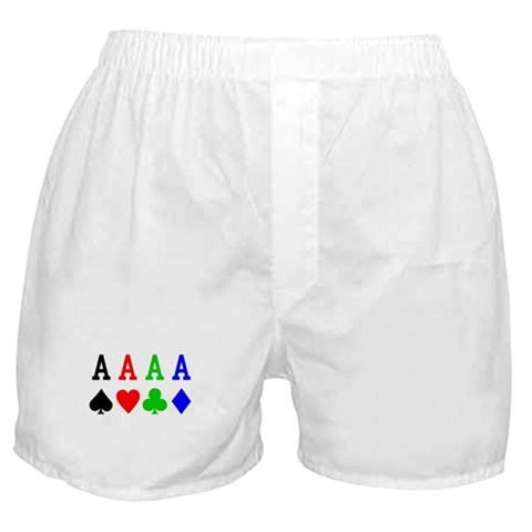 4 Aces  Hobbies Boxer Shorts by CafePress