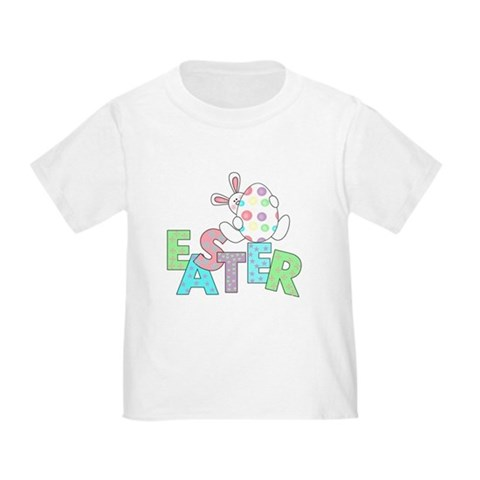 Product Image of Bunny With Easter Egg Toddler T-Shirt