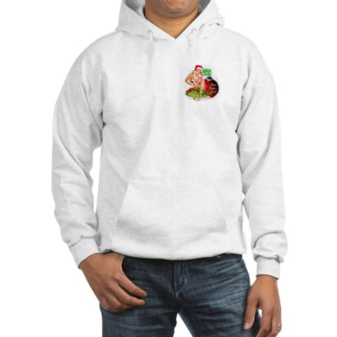 Hula Hotties Cafe Hooded Christmas Sweatshirt Holiday Hooded Sweatshirt by CafePress
