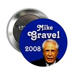 Mike Gravel for President Button