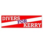 Divers for Kerry (bumper sticker)