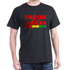 PROUD AFRICAN Dark T-Shirt
