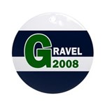Gravel 2008 Ornament (Round)