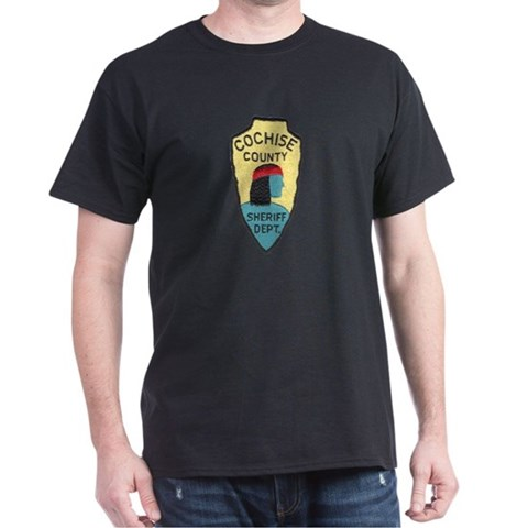 Product Image of Cochise County Sheriff Dark T-Shirt
