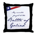 Alamo Throw Pillow