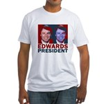 Edwards: President Fitted T-Shirt