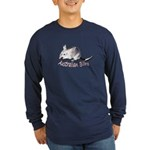 Australian Bilby Long Sleeve Dark T-Shirt