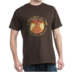 Obama 4 Change Dark T-Shirt