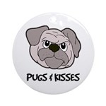Pugs & Kisses Ornament