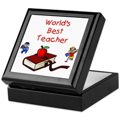 Teacher Tile Box