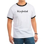 Bloggers unite, be proud to be a bloghead! Bonus: Have your blog's url added to this item. Email bloghead at offlinetshirts.com *before* adding this item to your cart.