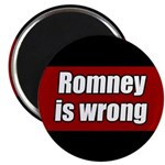 Romney is Wrong Magnet