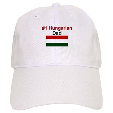 1 Hungarian Dad  Love Cap by CafePress