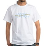 Melt And Pour Maniac White T-Shirt
