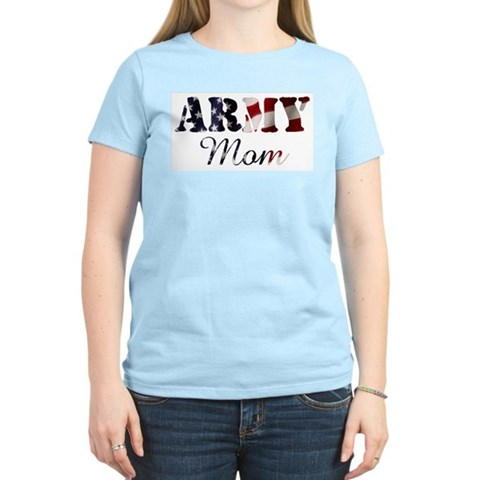 Product Image of Army Mom Flag Women's Light T-Shirt