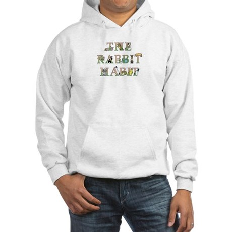 Rabbit Habit Hooded Sweatshirt