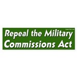 Repeal the Military Commissions Act Sticker
