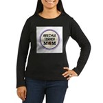 Airedale Terrier Mom Long Sleeve T-Shirt