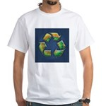 recycle-tie-dye-BUT White T-Shirt