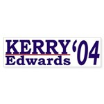 Kerry-Edwards '04 (bumper sticker)
