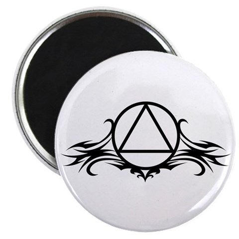 Aa 2.25 Magnet 100 pack by CafePress