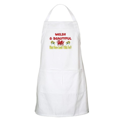 ...Welsh  Beautiful...  Dragon Apron by CafePress