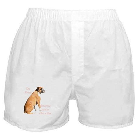 - just a dog Pets Boxer Shorts by CafePress