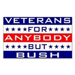 Veterans for Anybody but Bush