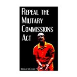 Military Commissions Act Prisoner Sticker