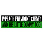Impeach President Cheney (bumper sticker)