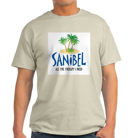 Sanibel Therapy  Beach Light T-Shirt by CafePress