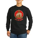 Blackmouth Cur Long Sleeve Dark T-Shirt